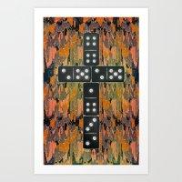 Holy Domino Art Print