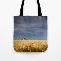 Happisburgh Lighthouse Tote Bag
