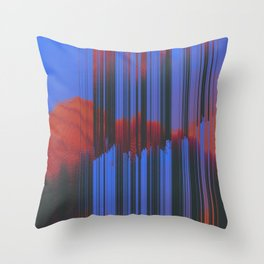 Throw Pillow - Sunset Melodic - DuckyB