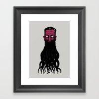 Lovecramorphosis Framed Art Print