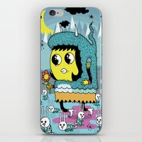 The Birds And The Bunnie… iPhone & iPod Skin