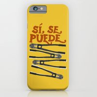 iPhone & iPod Case featuring Sí se puede by Landon Sheely