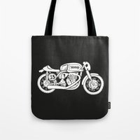 Norton Model 30 - Cafe Racer series #2 Tote Bag
