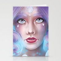 Lady Bubble Stationery Cards