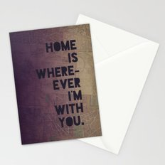 With You Stationery Cards