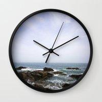 Acadia View - Ocean Scen… Wall Clock
