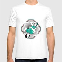 Dualism Mens Fitted Tee White SMALL