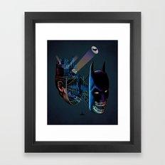 destructured hero#1 Framed Art Print