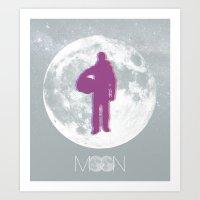 Moon - Movie Poster Art Print