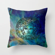 Versace Nebula  Throw Pillow