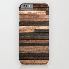 Vintage Wood Plank iPhone 6 Slim Case