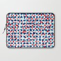 Abstract Beach Floral Laptop Sleeve
