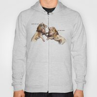 Dress Fight - Blue Or Wh… Hoody