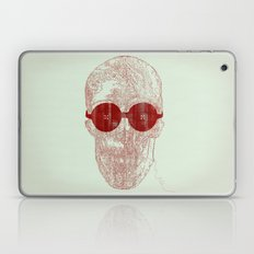 Unravel skull Laptop & iPad Skin