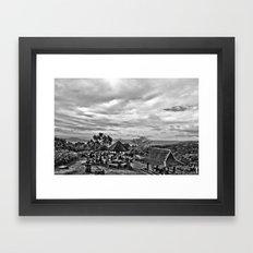 Picnic grove Framed Art Print