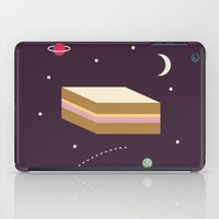 Ham & Cheese In Space iPad Case