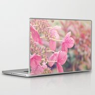 Laptop & iPad Skin featuring Pink Lacecap Hydrangea F… by AFE Images (Amalia F…