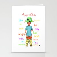 Angryocto - Jim's Lasthope Stationery Cards