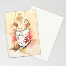 Tea Bags and Take out Stationery Cards
