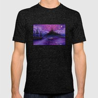 The Lantern Scene Mens Fitted Tee Tri-Black SMALL