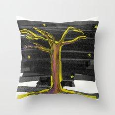 Tree#2 Throw Pillow