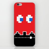 Pixel Ghost iPhone & iPod Skin