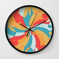 Splat (Available in the Society 6 Shop!) Wall Clock
