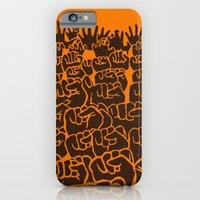 iPhone & iPod Case featuring Overcome by zamantungwa