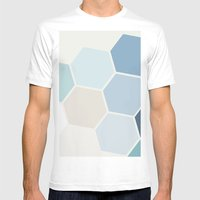 Hex Mens Fitted Tee White SMALL