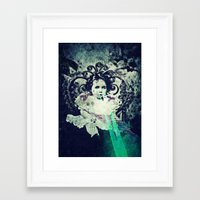 Butterfly Child Framed Art Print