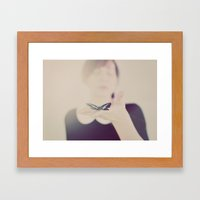 In Dreams Framed Art Print