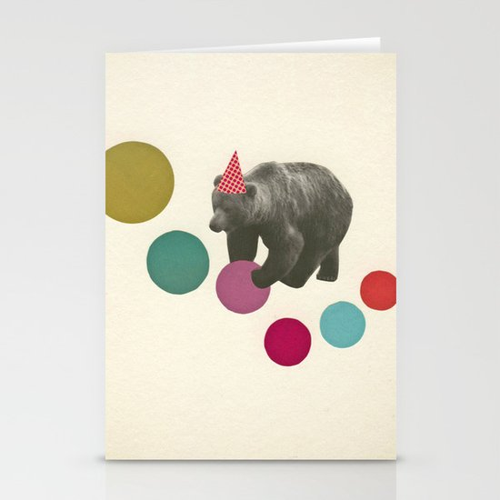 Birthday Bear Stationery Card