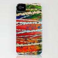 Birch Tree Stitch iPhone (4, 4s) Slim Case