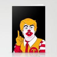 McDonald Trump Stationery Cards