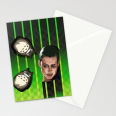 In space no one can hear you scream Stationery Cards