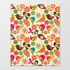 Little Birds Canvas Print