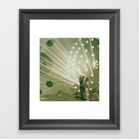 The Light Pours Out Of M… Framed Art Print