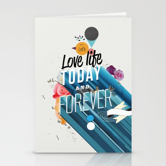 Everything Forever Stationery Card