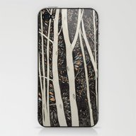 Forest Faces  iPhone & iPod Skin