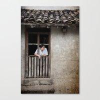 Morning From San Esteban… Canvas Print