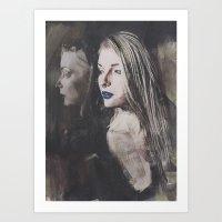 Echo Gothic Art Print