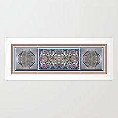 An Indian Garden Art Print