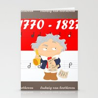 Ludwig Van Beethoven Stationery Cards