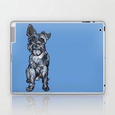 Rupert the Miniature Schnauzer Laptop & iPad Skin