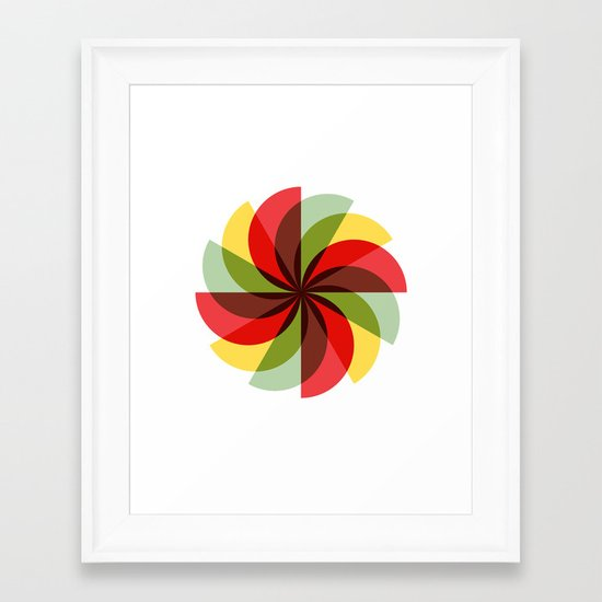 Windmill (2012) Framed Art Print