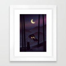 Silent Watcher Framed Art Print