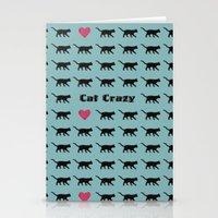 Cat Crazy Stationery Cards