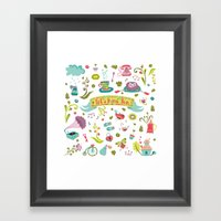 Let's have some FUN Framed Art Print