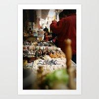 Marketplace Art Print