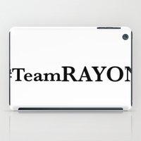 #TeamRAYON Rug iPad Case
